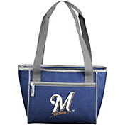 Milwaukee Brewers Crosshatch Can Cooler Tote
