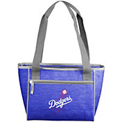 Los Angeles Dodgers Crosshatch Can Cooler Tote