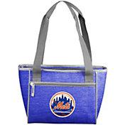 New York Mets Crosshatch Can Cooler Tote
