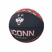 UConn Huskies Logo Mini Rubber Basketball