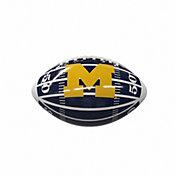 Michigan Wolverines Glossy Mini Football