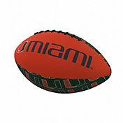 Miami Hurricanes Mini Rubber Football