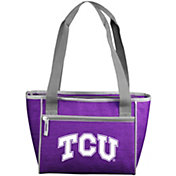 TCU Horned Frogs Crosshatch Can Cooler Tote