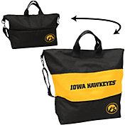 Iowa Hawkeyes Crosshatch Tote