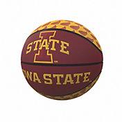 Iowa State Cyclones Logo Mini Rubber Basketball