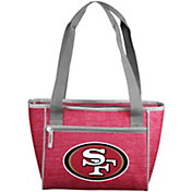 San Francisco 49ers Crosshatch Can Cooler Tote