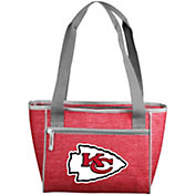 Kansas City Chiefs Crosshatch Can Cooler Tote