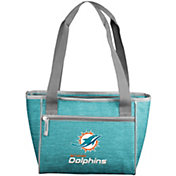 Miami Dolphins Crosshatch Can Cooler Tote