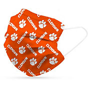 Adult Clemson Tigers 6-Pack Disposable Face Coverings