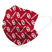 Adult Oklahoma Sooners 6-Pack Disposable Face Coverings