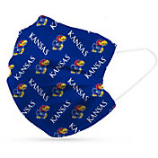 Adult Kansas Jayhawks 6-Pack Disposable Face Coverings