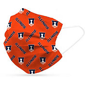 Adult Illinois Fighting Illini 6-Pack Disposable Face Coverings