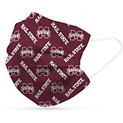 Adult Mississippi State Bulldogs 6-Pack Disposable Face Coverings