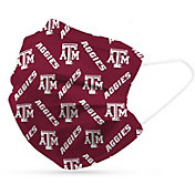Adult Texas A&M Aggies 6-Pack Disposable Face Coverings
