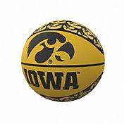 Iowa Hawkeyes Logo Mini Rubber Basketball