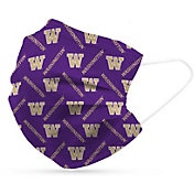 Adult Washington Huskies 6-Pack Disposable Face Coverings