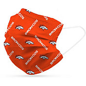 Adult Denver Broncos 6-Pack Disposable Face Coverings