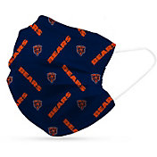 Adult Chicago Bears 6-Pack Disposable Face Masks