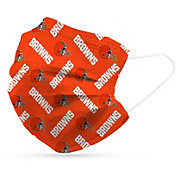 Adult Cleveland Browns 6-Pack Disposable Face Masks