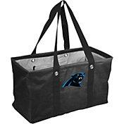 Logo Carolina Panthers Crosshatch Picnic Caddy