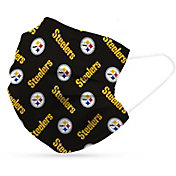 Adult Pittsburgh Steelers 6-Pack Disposable Face Coverings