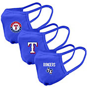 Levelwear Adult Texas Rangers 3-Pack Face Coverings