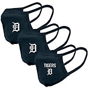Levelwear Adult Detroit Tigers 3-Pack Face Coverings