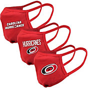 Levelwear Adult Carolina Hurricanes 3-Pack Face Coverings