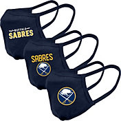 Levelwear Adult Buffalo Sabres 3-Pack Face Coverings