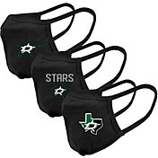Levelwear Adult Dallas Stars 3-Pack Face Coverings