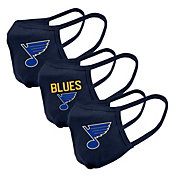 Levelwear Adult St. Louis Blues 3-Pack Face Coverings