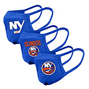 Levelwear Adult New York Islanders 3-Pack Face Coverings