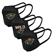 Levelwear Adult Minnesota Wild 3-Pack Face Coverings