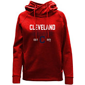 Levelwear Women's Cleveland Indians Red Frolic Pullover Hoodie