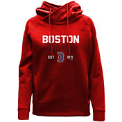 Levelwear Women's Boston Red Sox Red Frolic Pullover Hoodie