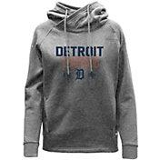 Levelwear Women's Detroit Tigers Grey Frolic Pullover Hoodie