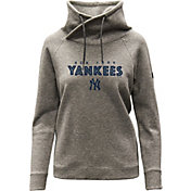 Levelwear Women's New York Yankees Gray Craze Pullover Hoodie