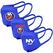 Levelwear Youth New York Islanders 3-Pack Face Masks