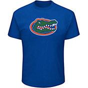 Majestic Men's Big and Tall Florida Gators Royal Short Sleeve T-Shirt
