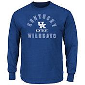 NCAA Men's Big and Tall Kentucky Wildcats Long Sleeve T-Shirt
