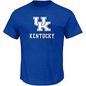 NCAA Men's Big and Tall Kentucky Wildcats Royal Short Sleeve T-Shirt