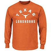Majestic Men's Big and Tall Texas Longhorns Long Sleeve T-Shirt