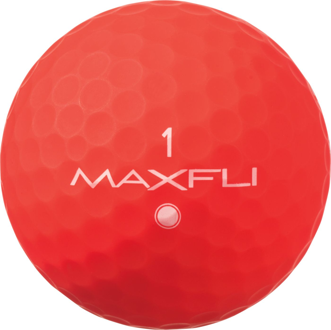 Maxfli SoftFli Matte Golf Balls – Red