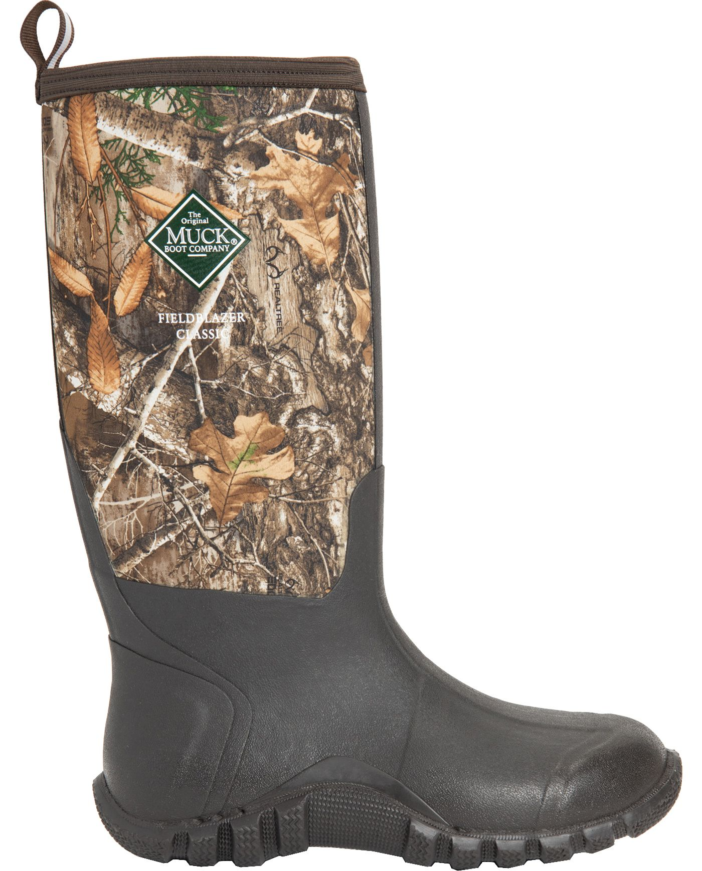 Muck Boots Men's Fieldblazer Classic Fleece Realtree Hunting Boots