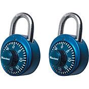 Master Lock Standard Dial Combination Padlock – 2 Pack