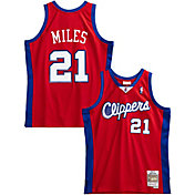 Mitchell & Ness Men's Los Angeles Clippers Darius Miles #21 Red Jersey