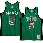Mitchell & Ness Men's Boston Celtics Kevin Garnett #5 Swingman Green Jersey