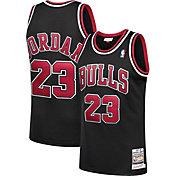 Mitchell & Ness Men's Chicago Bulls Michael Jordan #23 Authentic 1997-98 Black Jersey