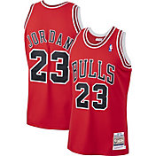 Mitchell & Ness Men's Chicago Bulls Michael Jordan #23 Authentic 1997-98 Red Jersey