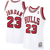 Mitchell & Ness Men's Chicago Bulls Michael Jordan #23 Authentic 1997-98 White Jersey